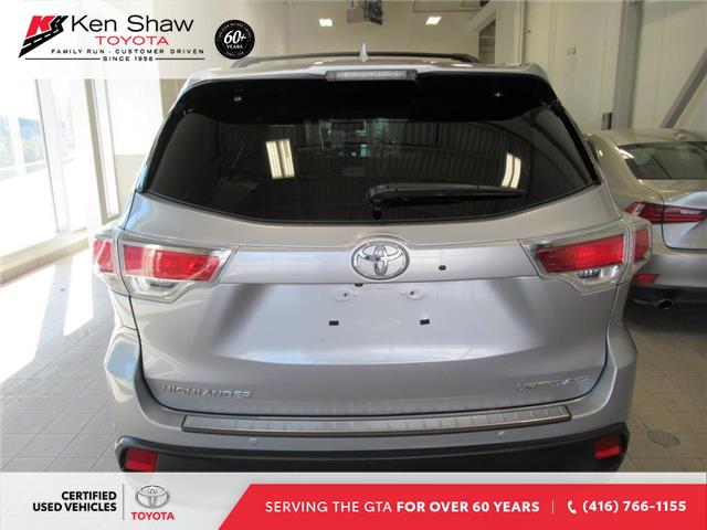2016 Toyota Highlander Limited (Stk: 16018A) in Toronto - Image 17 of 17