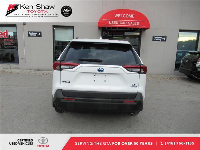 2019 Toyota RAV4 Hybrid LE (Stk: 16562A) in Toronto - Image 2 of 11
