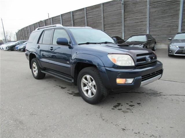 2004 Toyota 4Runner  (Stk: 16098AB) in Toronto - Image 1 of 12