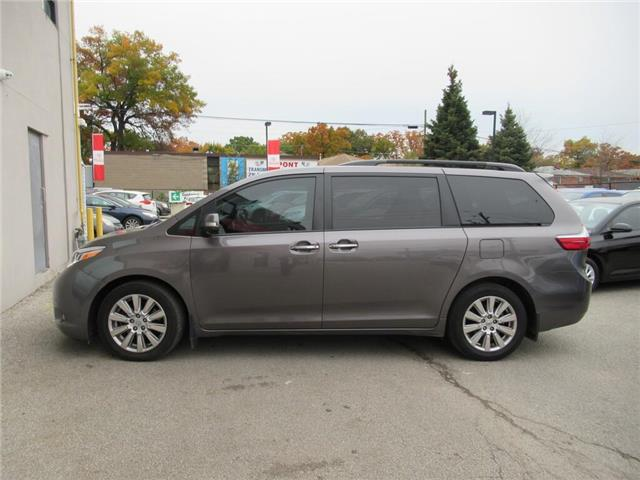 2017 Toyota Sienna 7 Passenger (Stk: 16610A) in Toronto - Image 1 of 15