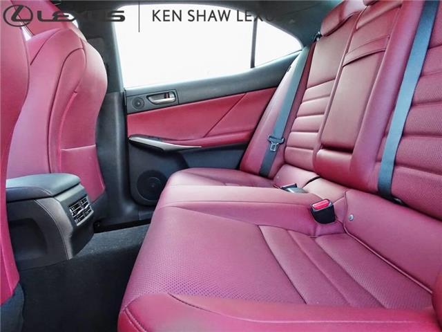 2017 Lexus IS 350 Base (Stk: 16430A) in Toronto - Image 10 of 21