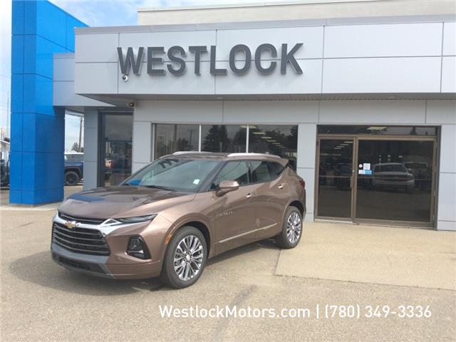 2019 Chevrolet Blazer Premier (Stk: 19T228) in Westlock - Image 1 of 14
