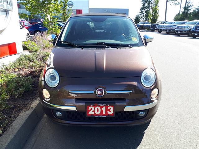 2013 Fiat 500C Lounge (Stk: P0077) in Courtenay - Image 2 of 9
