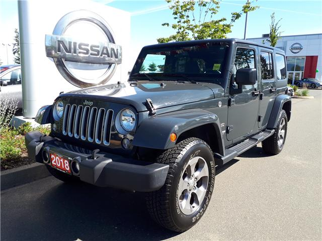 2018 Jeep Wrangler JK Unlimited Sahara (Stk: P0100) in Courtenay - Image 1 of 9