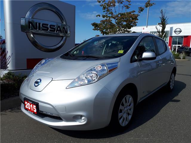 2015 Nissan LEAF S (Stk: P0107) in Courtenay - Image 1 of 9