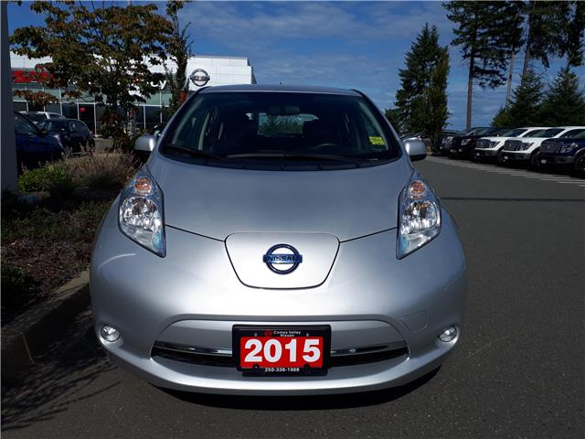 2015 Nissan LEAF S (Stk: P0107) in Courtenay - Image 2 of 9