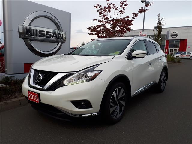 2018 Nissan Murano Platinum (Stk: 9M5053A) in Courtenay - Image 1 of 9