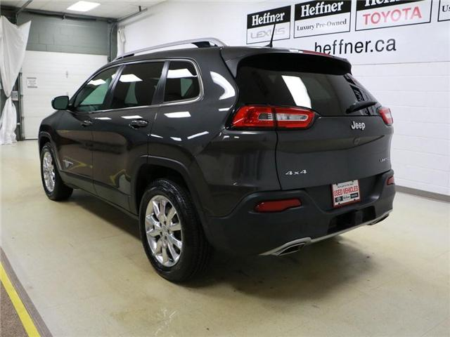 2016 Jeep Cherokee Limited (Stk: 186394) in Kitchener - Image 3 of 24