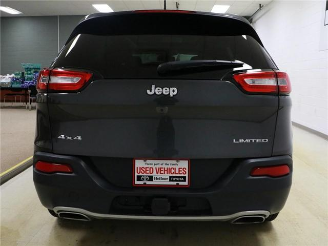 2016 Jeep Cherokee Limited (Stk: 186394) in Kitchener - Image 17 of 24