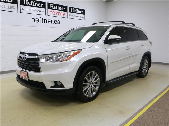 2015 Toyota Highlander XLE (Stk: 186520) in Kitchener - Image 1 of 28