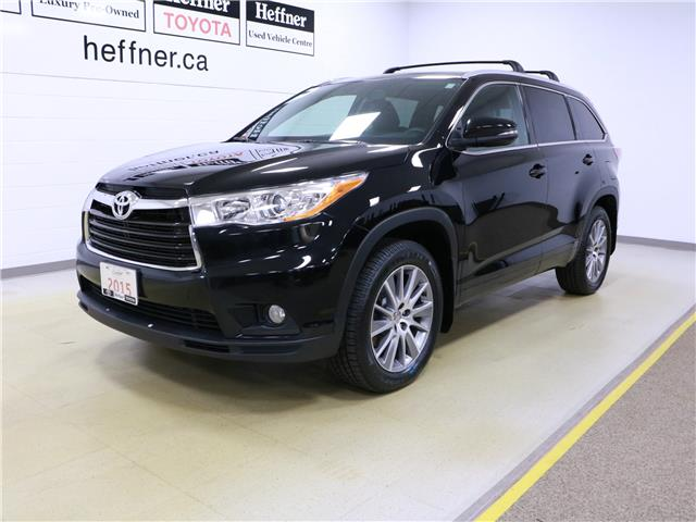 2015 Toyota Highlander XLE (Stk: 195640) in Kitchener - Image 1 of 34
