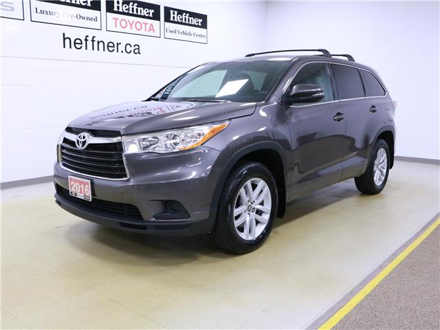 2016 Toyota Highlander LE 5TDZKRFH8GS133390 195789 in Kitchener
