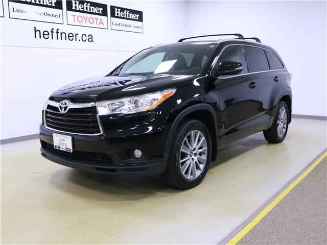 2016 Toyota Highlander XLE 5TDJKRFH6GS239902 195817 in Kitchener