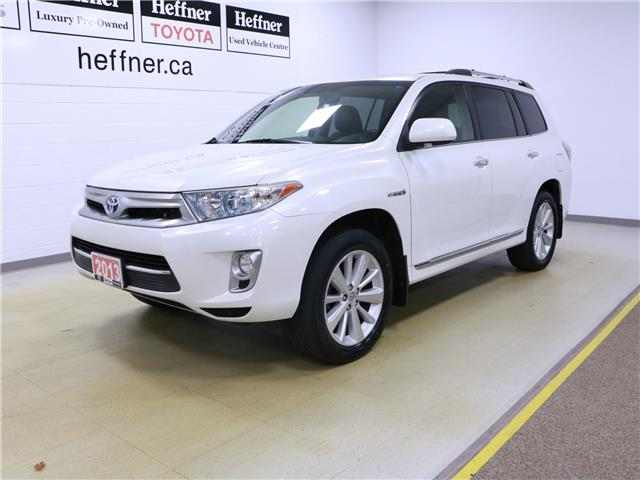 2013 Toyota Highlander Hybrid Limited (Stk: 196098) in Kitchener - Image 1 of 32