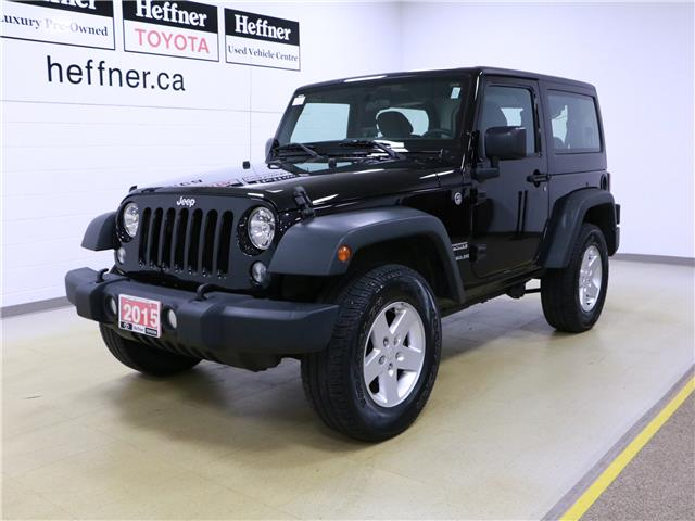 2015 Jeep Wrangler Sport (Stk: 196150) in Kitchener - Image 1 of 28