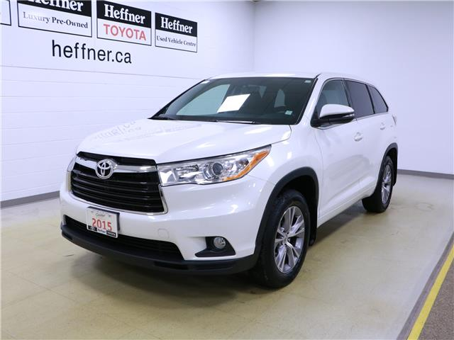 2015 Toyota Highlander LE (Stk: 196164) in Kitchener - Image 1 of 33