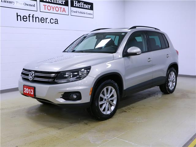 2013 Volkswagen Tiguan 2.0 TSI Comfortline (Stk: 196268) in Kitchener - Image 1 of 29