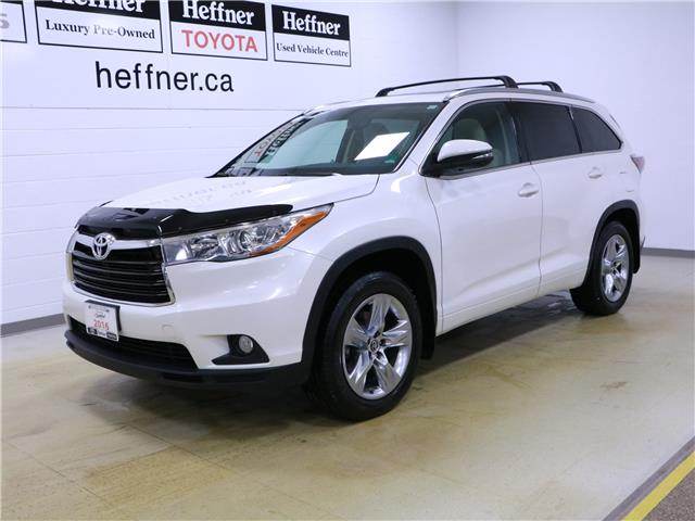 2016 Toyota Highlander Limited (Stk: 196322) in Kitchener - Image 1 of 35