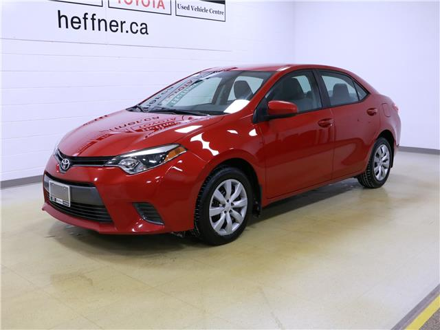 2016 Toyota Corolla LE (Stk: 205010) in Kitchener - Image 1 of 30