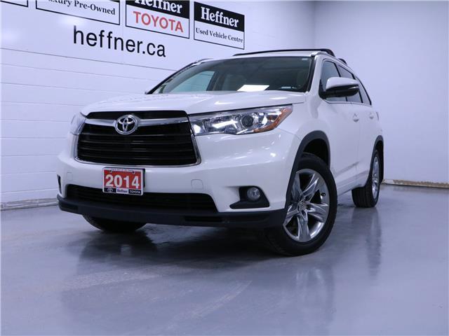 2014 Toyota Highlander Limited (Stk: 205088) in Kitchener - Image 1 of 28