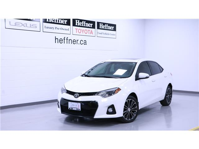 2016 Toyota Corolla S (Stk: 205185) in Kitchener - Image 1 of 15