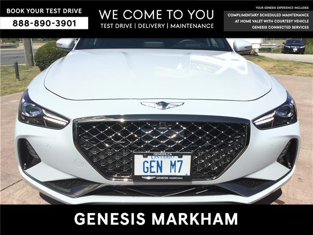 2020 Genesis G70 3.3T Sport (Stk: 194544) in Markham - Image 1 of 25