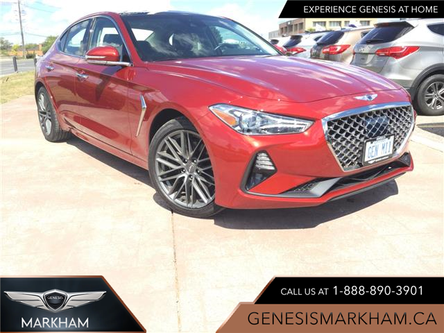 2019 Genesis G70 2.0T Elite (Stk: 184630) in Markham - Image 1 of 22