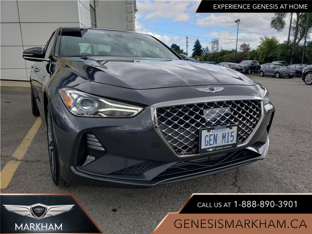 2019 Genesis G70 2.0T Elite (Stk: 194101) in Markham - Image 1 of 9