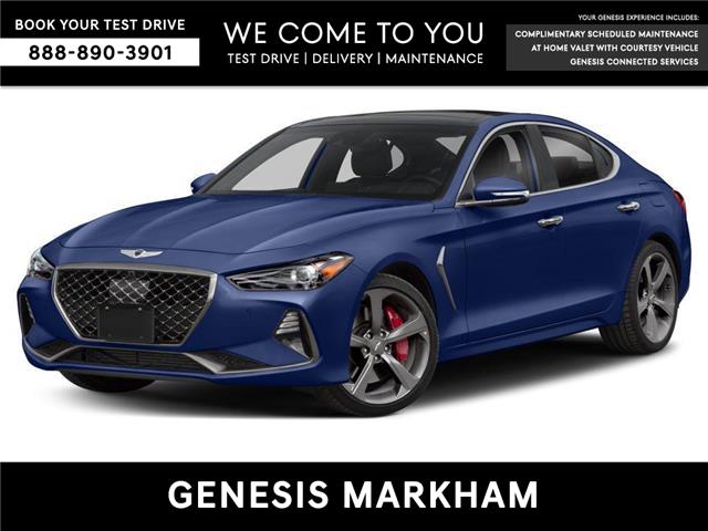 2020 Genesis G70 2.0T Advanced (Stk: 195184) in Markham - Image 1 of 8
