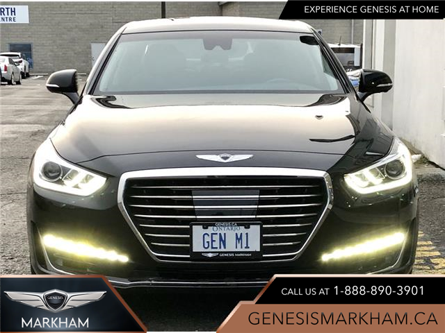 2019 Genesis G90 5.0L (Stk: 185545) in Markham - Image 1 of 30