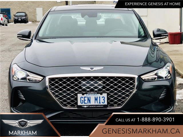 2020 Genesis G70 2.0T Elite (Stk: 194414) in Markham - Image 1 of 25