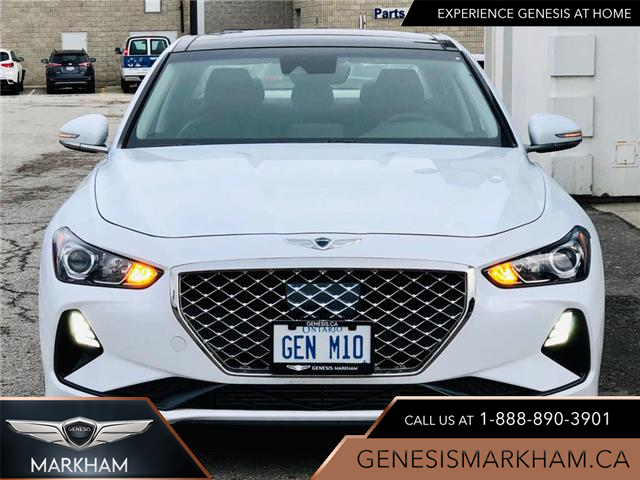2020 Genesis G70 2.0T Advanced (Stk: 194604) in Markham - Image 1 of 24