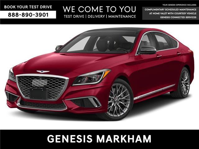 2020 Genesis G80 3.3T Sport (Stk: 104553) in Markham - Image 1 of 9