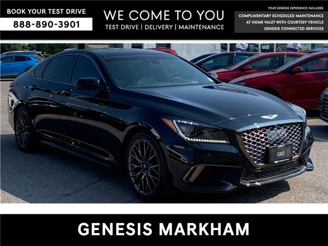 2020 Genesis G80 3.3T Sport (Stk: 8530H) in Markham - Image 1 of 9