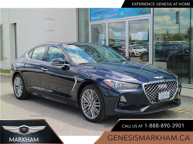 2021 Genesis G70 2.0T Elite (Stk: 104580) in Markham - Image 1 of 25