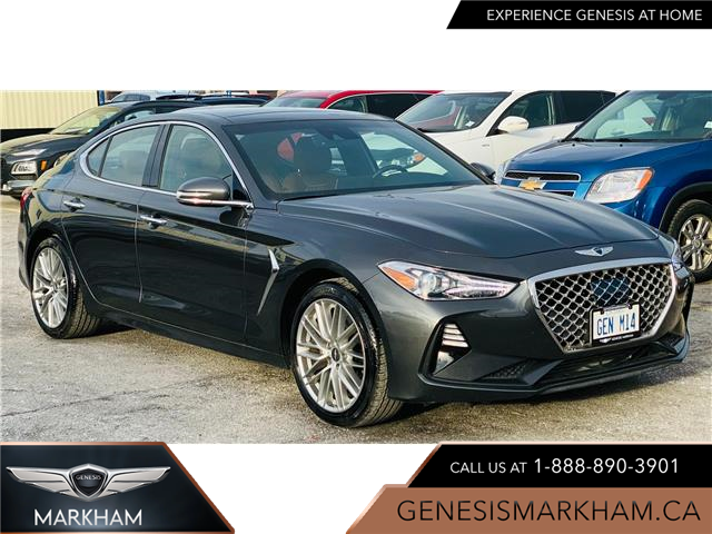 2020 Genesis G70 2.0T Elite (Stk: 104410) in Markham - Image 1 of 18