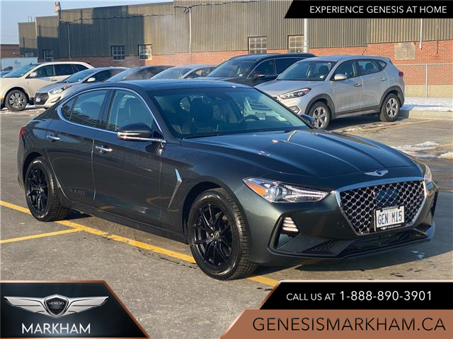 2021 Genesis G70 2.0T Elite (Stk: 104956) in Markham - Image 1 of 15