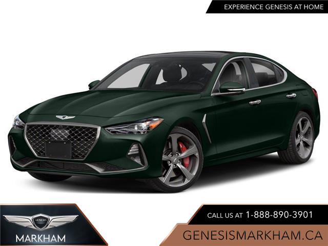 2021 Genesis G70 2.0T Elite (Stk: 104956) in Markham - Image 1 of 9