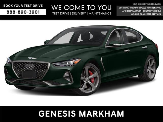 2021 Genesis G70 2.0T Elite (Stk: 104956) in Markham - Image 1 of 9