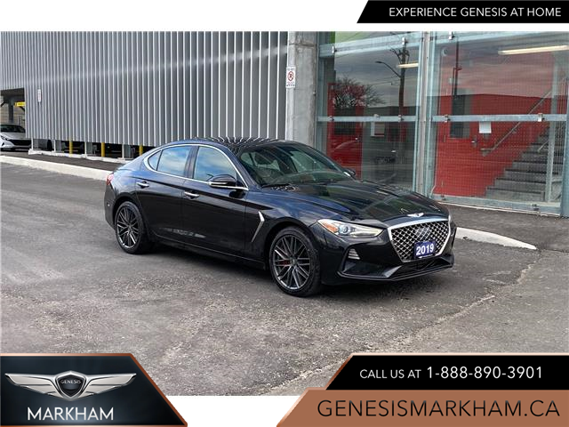2019 Genesis G70 3.3T Dynamic (Stk: 9167H) in Markham - Image 1 of 19