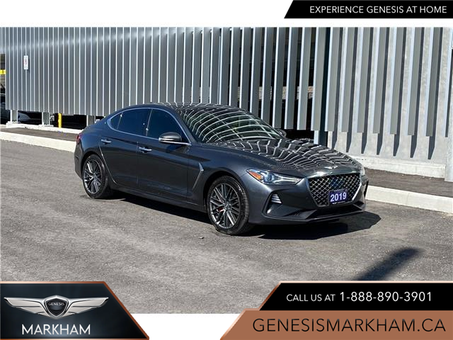 2019 Genesis G70 3.3T Dynamic (Stk: 9180H) in Markham - Image 1 of 18