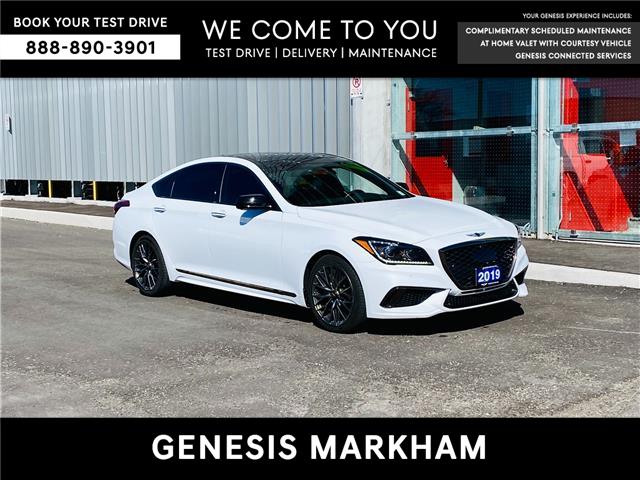 2019 Genesis G80 3.3T Sport (Stk: 9258H) in Markham - Image 1 of 20