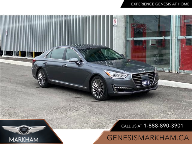 2017 Genesis G90 3.3T Ultimate (Stk: 9282H) in Markham - Image 1 of 21