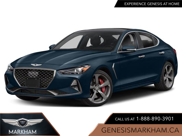 2021 Genesis G70 3.3T Prestige (Stk: 114454) in Markham - Image 1 of 9