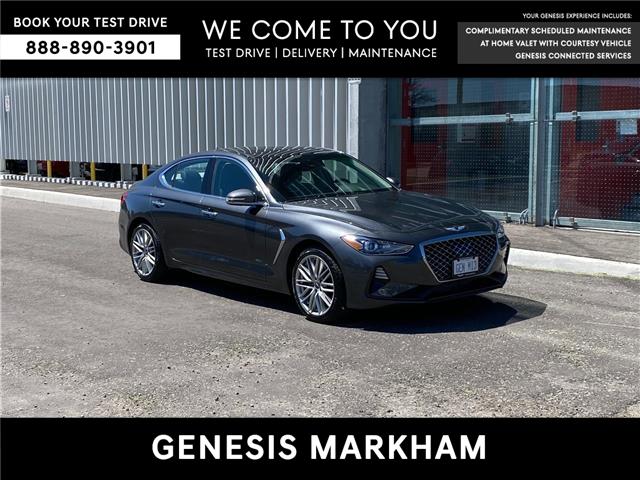 2021 Genesis G70 2.0T Elite (Stk: 104783) in Markham - Image 1 of 17