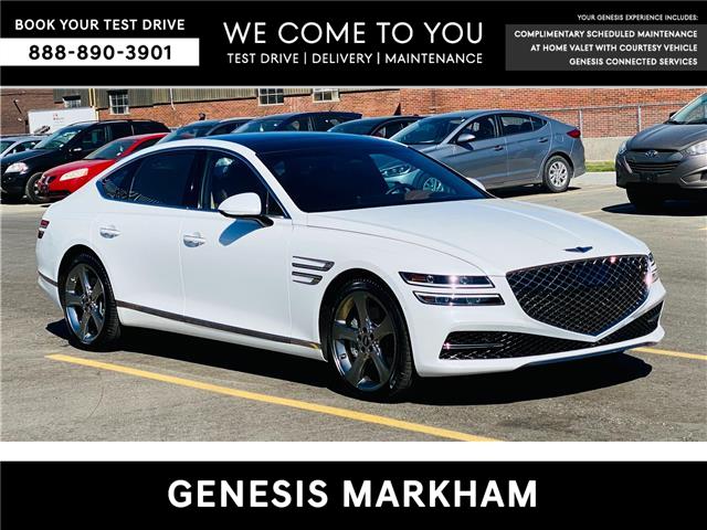 2021 Genesis G80 3.5T Prestige (Stk: 9313H) in Markham - Image 1 of 27