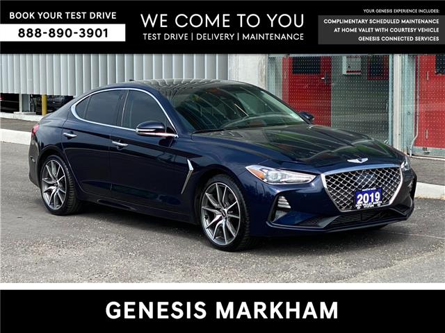 2019 Genesis G70 2.0T Prestige (Stk: 9363H) in Markham - Image 1 of 21