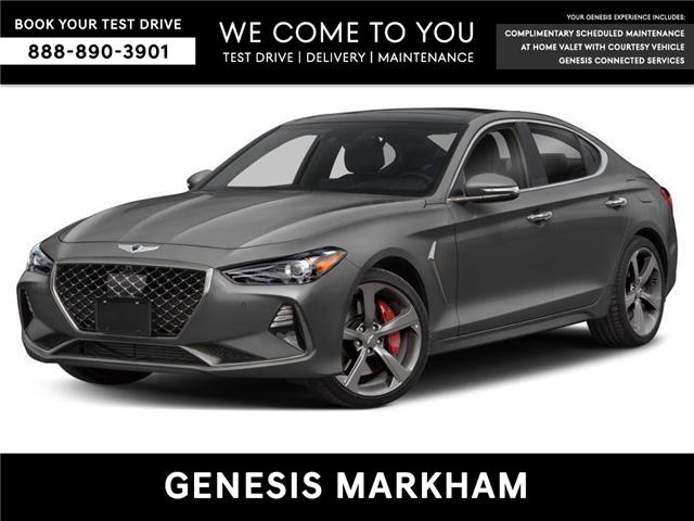 2019 Genesis G70 3.3T Sport (Stk: 9385H) in Markham - Image 1 of 9