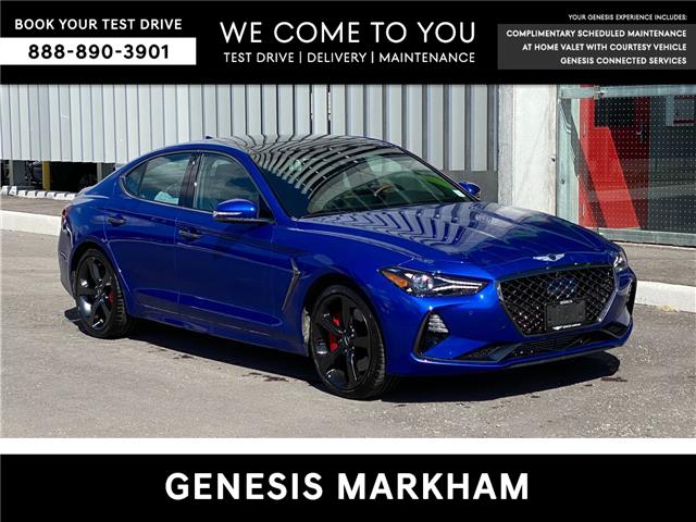 2021 Genesis G70 3.3T Sport (Stk: 16U100016) in Markham - Image 1 of 20