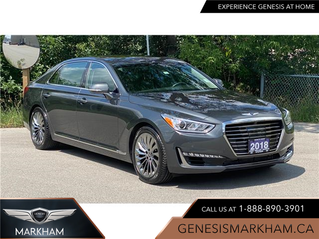 2018 Genesis G90 3.3T Ultimate (Stk: 16100164A) in Markham - Image 1 of 20